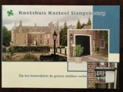 Folder - Koetshuis Kasteel Slangenburg