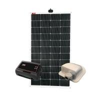 NDS Solarflex EVO 150W Flex Zonnepaneel Set +SC320M KPE150W…