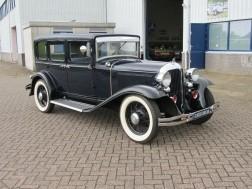 Chrysler Imperial super six sedan 1931 zeer zeldzaam
