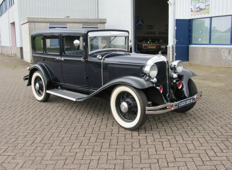 Chrysler Imperial super six sedan 1931 zeer zeldzaam
