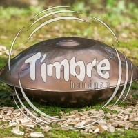 Timbre mini handpan C# Mystic, stainless steel