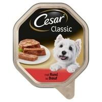 Cesar alu classic pate met rund 150 gr (14 stuks)