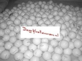 Golfspullen voor scherpe prijzen De golfballenman!