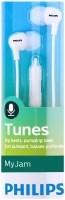 SHE3555WT/00 In-ear oordopjes met microfoon wit  Alleen dez…