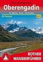 Wandelgids 40 Oberengadin Rother Wanderführer   Rother Berg…