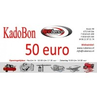 Kadobon Cadeaubonnen 50
