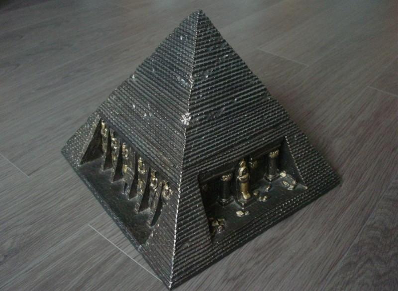Schitterende piramide