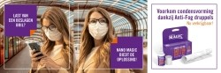 Een beslagen bril? Nano Magic Anti Fog