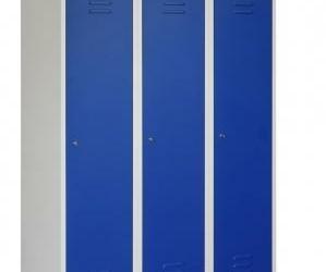 Garderobekast 3 deurs 120 cm breed