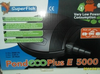 Pond Eco Plus E 5000&8000!