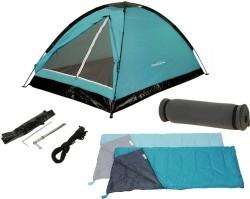 Kampeerset - 2-personen - Tent + Slaapzakken + Matjes  Alle…
