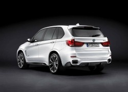 BMW X5 F15 carbon performance style diffuser