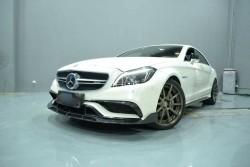 Carbon B Style voorlip Mercedes CLS63