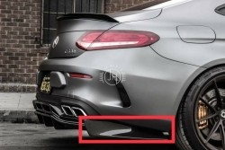 PSM Achterbumper extensions C63 (S) Coupe