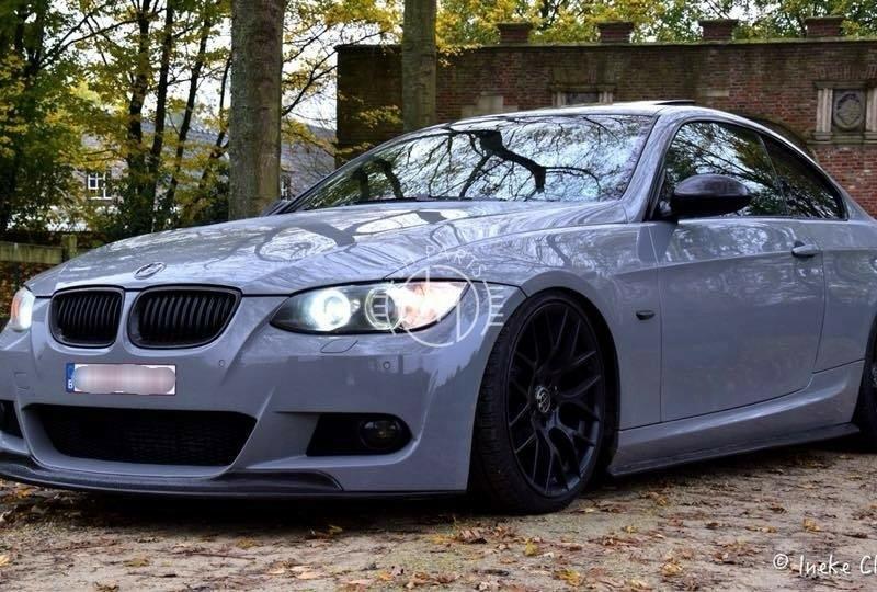 Carbon voorlip A style BMW E92 E93 Pre-LCI