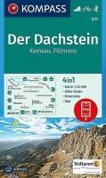 Wandelkaart 031 Der Dachstein Ramsau, Filzmoos Kompass