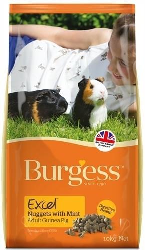 Burgess excel guinea pig caviavoer (2 KG) 2 KG
