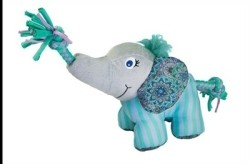 Kong knots carnival olifant 17X12,5X9 CM