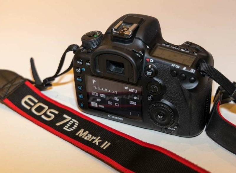 Canon EOS 7d Mark II + lens