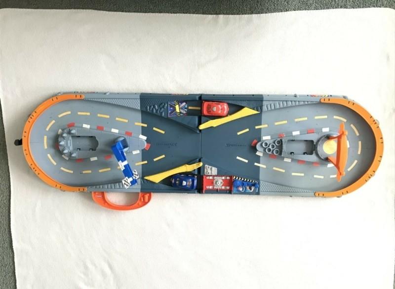 Racebaan - zonder batterij - opwindbaar - 3 tot 10 jaar