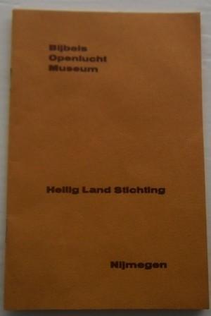 Boekje - Heilige Land Stichting Nijmegen