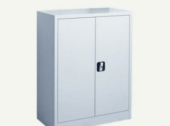 Draaideurkast 100x80x39 Zilver