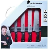 Masterpro 6-delige messenset  Alleen deze week 10% extra ko…