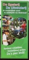 Foldertje - De Spelerij-De Uitvinderij - Dieren