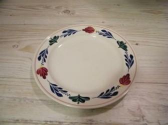 6 platte borden Boerenbont