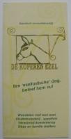 Foldertje - De koperen Ezel - Epe