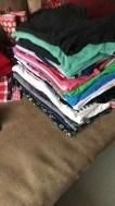 Heel veel kleding