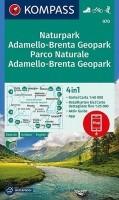 Wandelkaart 070 Adamello-Brenta Kompass