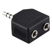 3.5mm Male to Dual 3.5mm Female Splitter Adapter