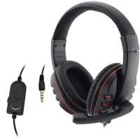 Wired Headphone 3.5mm Gaming Music Microphone For PS4 Play…