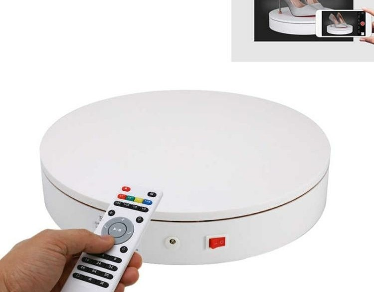 20cm Control Adjusting Speed 360 Degree Electric Rotating T…