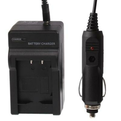 Digital Camera Battery Car Charger for SONY NP-BX1(Black)