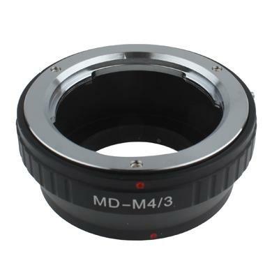 MD-M4/3 Lens Mount Stepping Ring(Black)