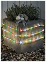 LED Lichtslang 6 meter, met sensor en timer, multicolor - 9…