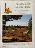 "Folder - Vakantie-oord ""De Lindenberg""- Holten"