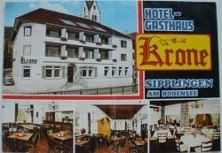 Foldertje - Hotel-Gasthaus KRONE - Sipplingen