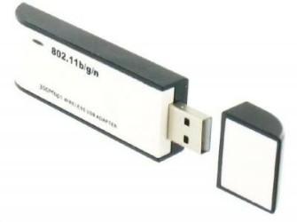 WiFi USB Adaptor Draadloos Netwerk 300Mbps