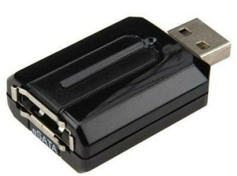 Sunplus USB naar eSATA Bridge Adapter