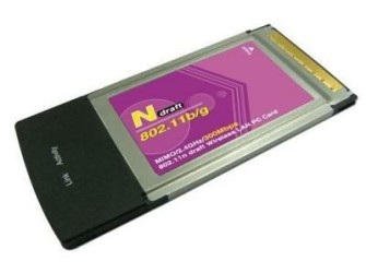 GRATIS Bezorgd: 300Mbps WLAN Wifi Wireless PCMCIA