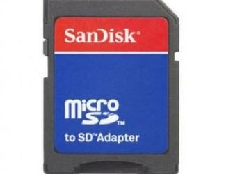 SANDISK SD Card Adapter voor MicroSD