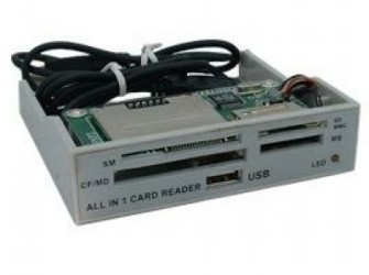 ALLin1 3,5 Grey Panel Cardreader - Gratis bezorgd!