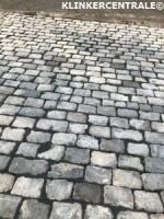 20180 270m2 grijs natuursteen klinkers kinderkoppen graniet…