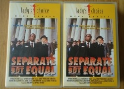 "De miniserie ""Separate But Equal"" met Sidney Poitier op VHS…"
