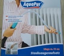 Twee nieuwe universele stofzuigeropzetstukken van AquaPur.
