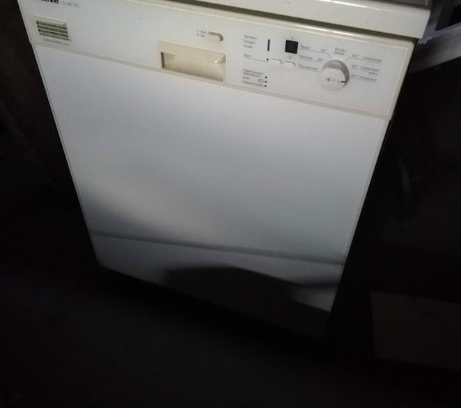 Goedwerkende Miele G647 SC vaatwasser afwasmachine