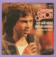 Christian Simon - Ich Will Nicht, Daß Du Weinst [2448]
